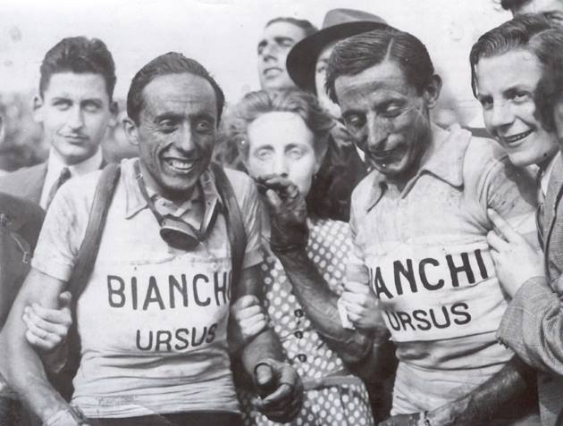 Image of Serse (left) and Fausto Coppi
