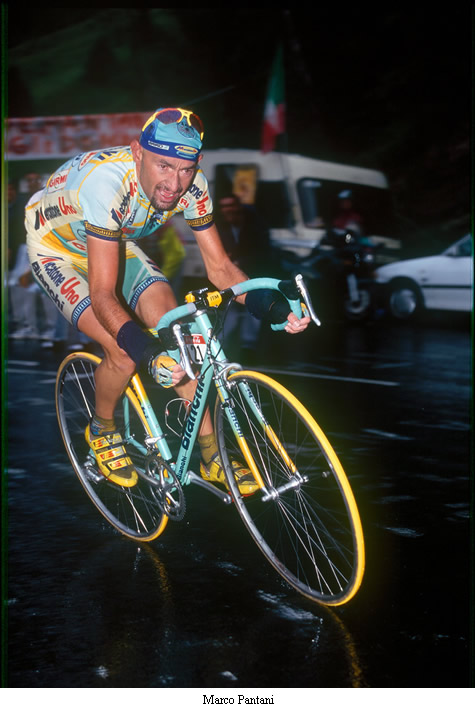 Image of Marco Pantani TDF 1998 red