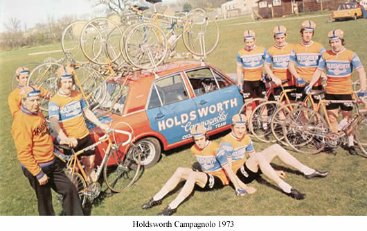 Image of Holdsworth Campagnolo team 1973