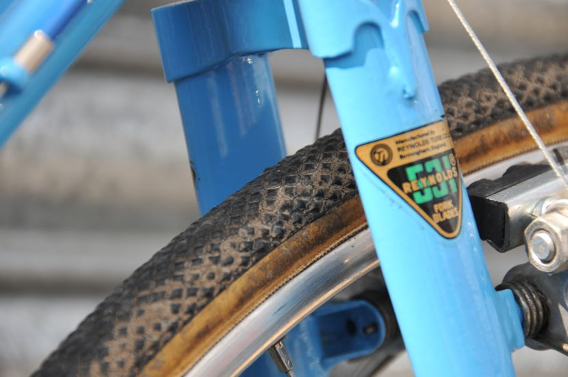 Image of John Atkins1971 Carlton cyclo-cross bike