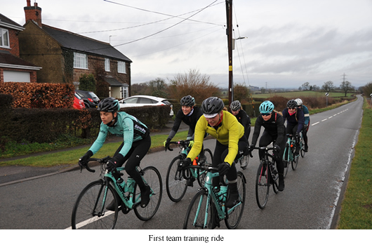 Image of Bianchi Dama first ride together