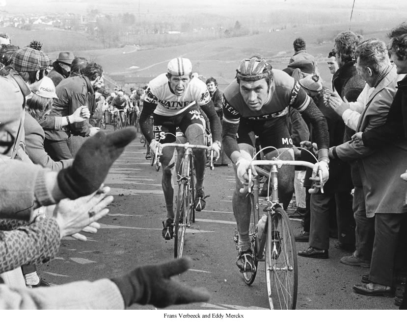 Image of Frans Verbeeck and Eddy Merckx
