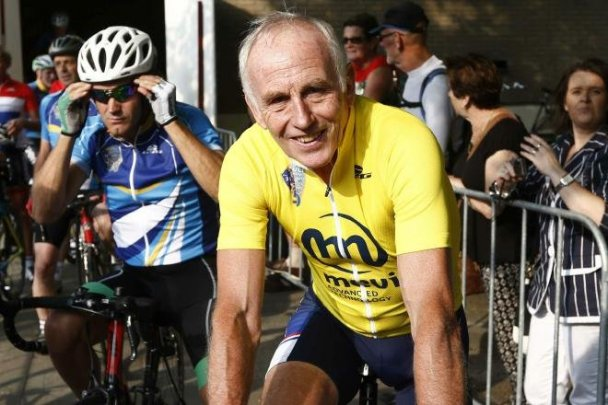 Zoetemelk, still riding after all those years