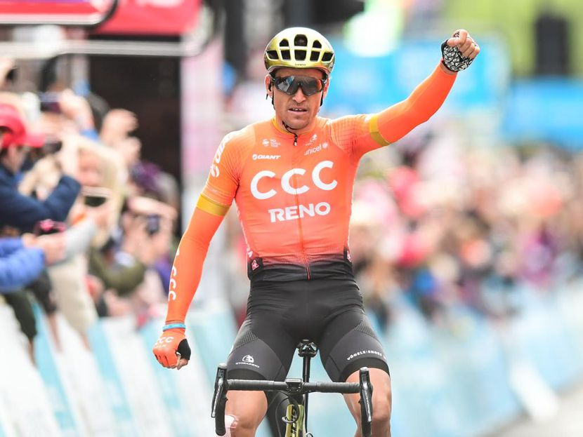 Greg Van Avermaet winner of stage 4, Tour de Yorkshire 2019.
