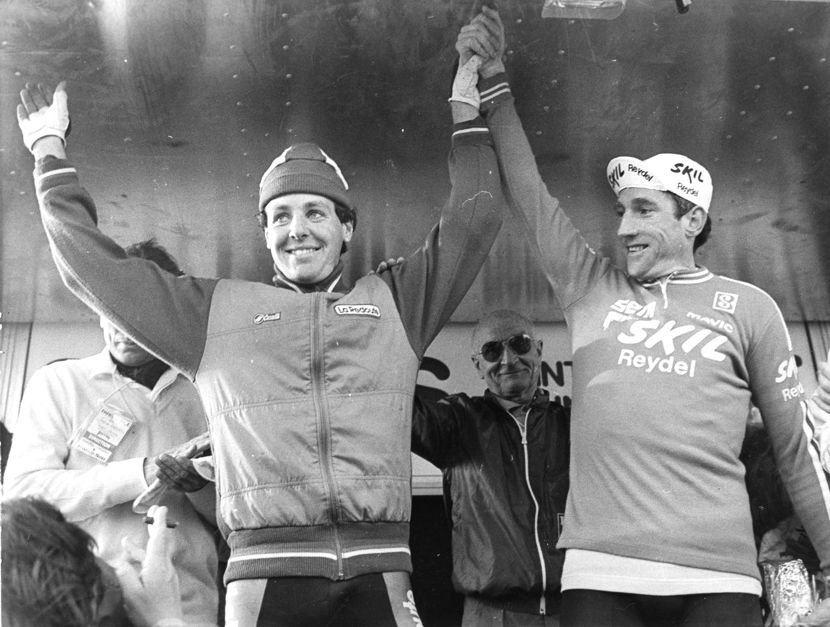 Image of Sean Kelly and Stephen Roche