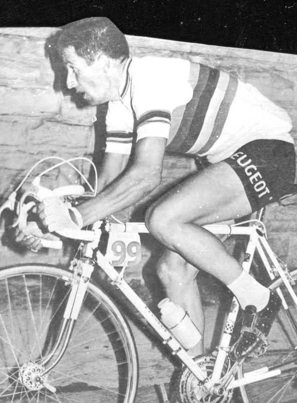 Winning Il Lombardia in 1965