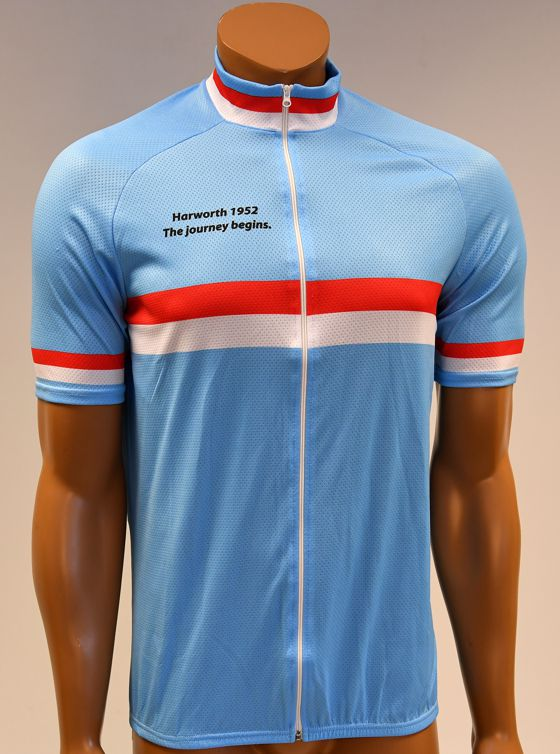 Harworth Cycling Club jesey colours from 1952